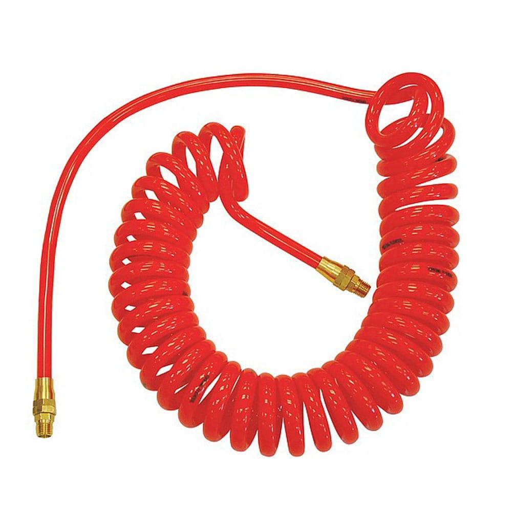 nylon coil hose flexible plastic pipe recoil air hose spring hose
