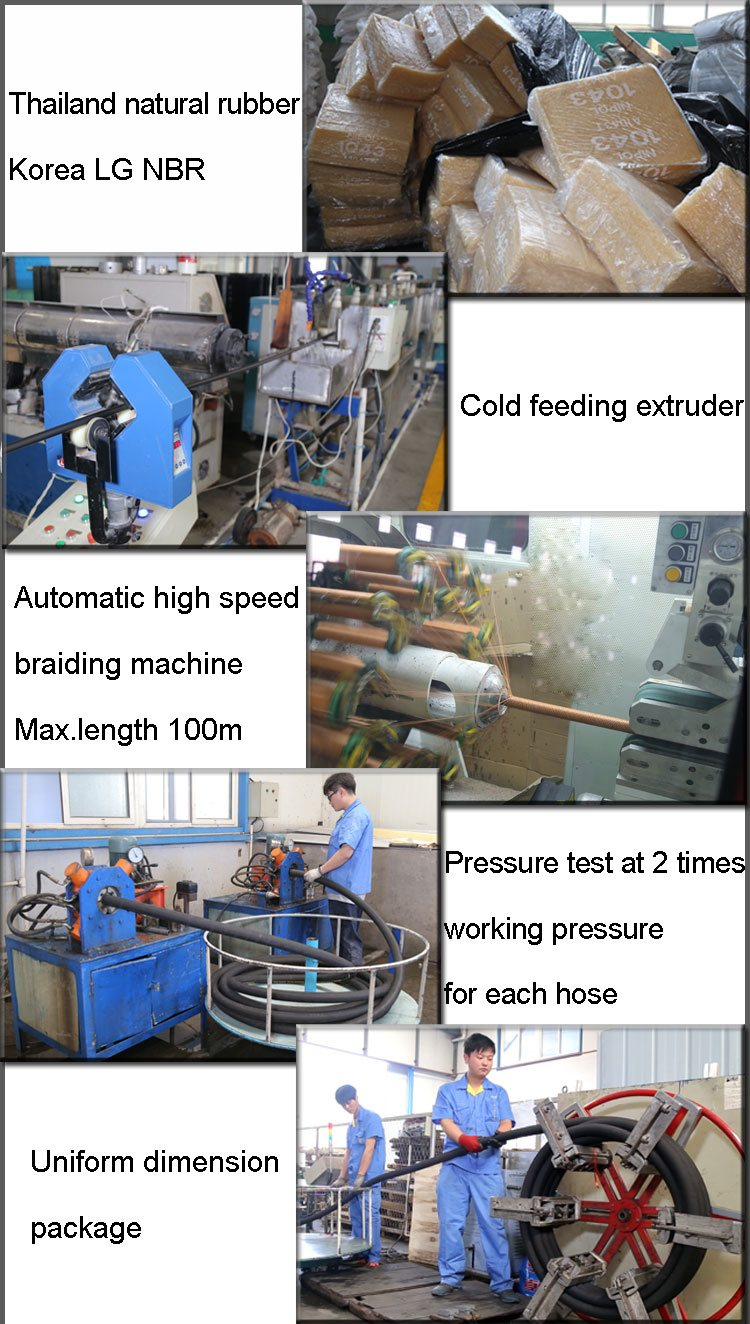 industrial hose production