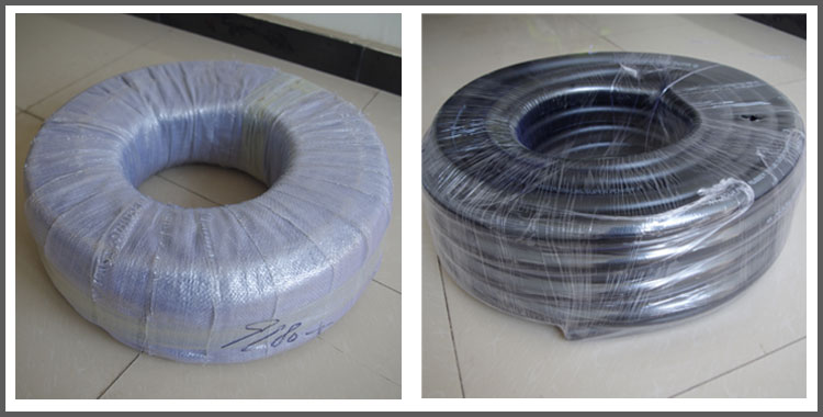 packaging of mixed air hose